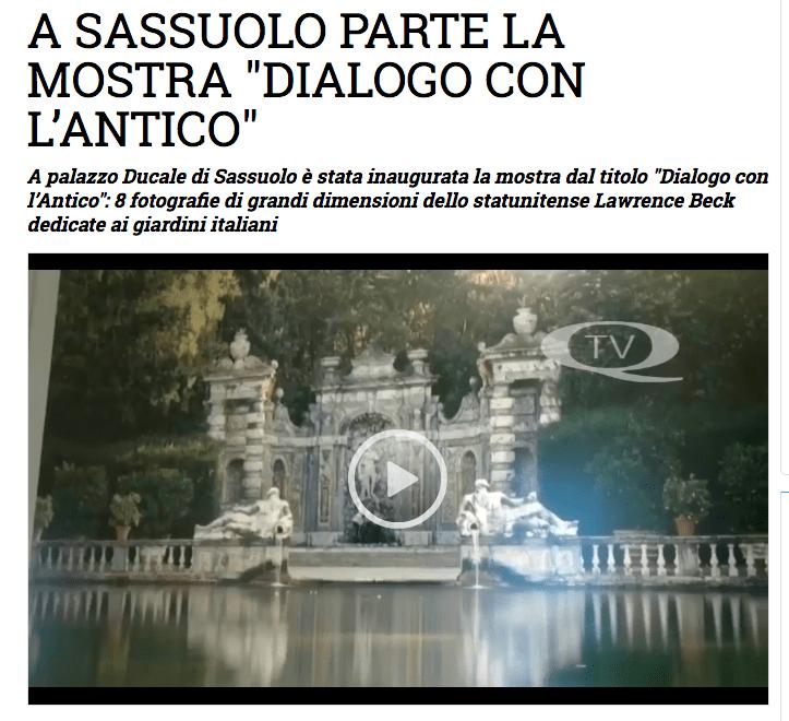A Sassuolo parte la mostra Dialogo con l'Antico