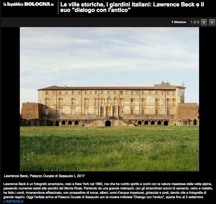 La Repubblica Bologna Lawrence Beck