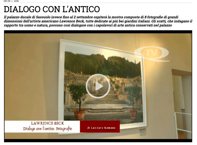 Dialogo con l'Antico – Sassuolo